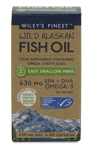 Wileys Finest Fish Oil Easy Swallow 630MG