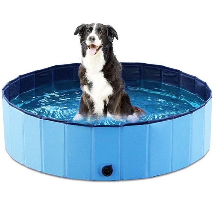 Foldable Pool Bathing Tub Kiddie Pool for Dogs Cats and Kids