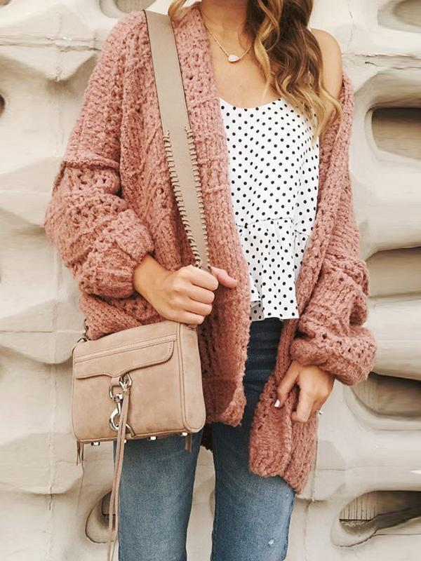 Remishoes Oversize Chunky Knit Cardigan