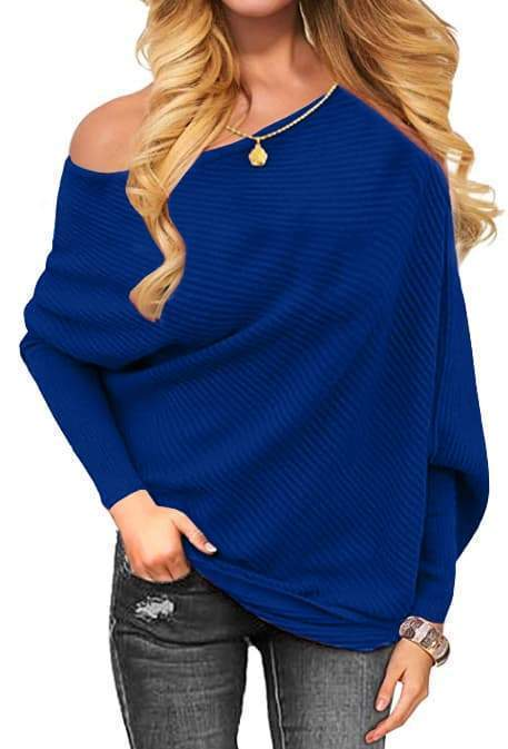 Remishoes Knitted Loose Pullovers Sweater