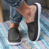 Remishoes Women Casual Comfy Non-Slip Slip On Walking Shoes Platform Slippers