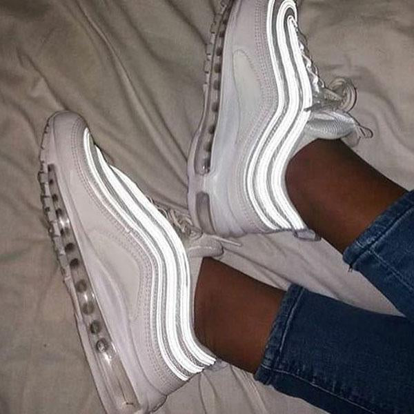 Remishoes White Casual Low Heel Sneakers