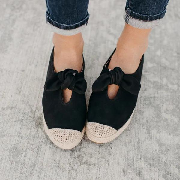 Remishoes Audrey Espadrille Slip On Loafers