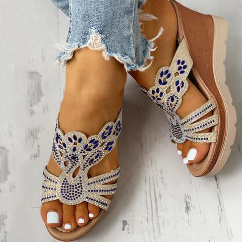 Remishoes Platform Wedge Casual Sandals