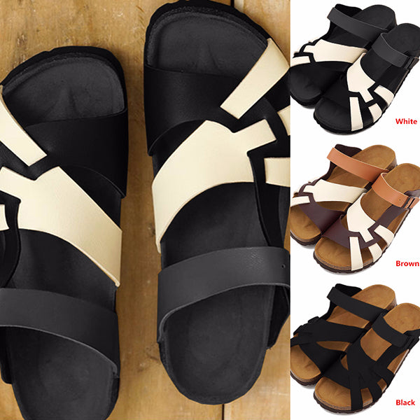 Remishoes Men Summer Open Toe Slippers