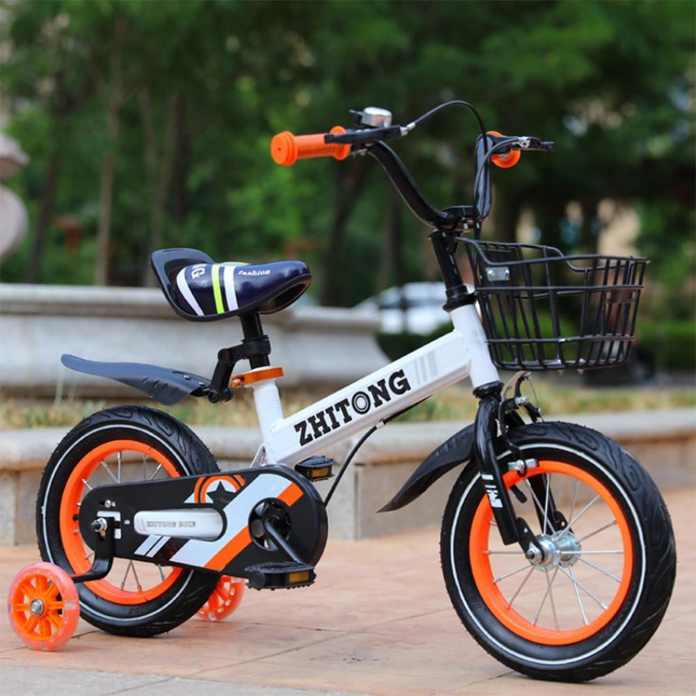 Remishoes Kids' Mountain Bike 12/14/16/18 inch Boys and Girls with High Carbon Steel Frame