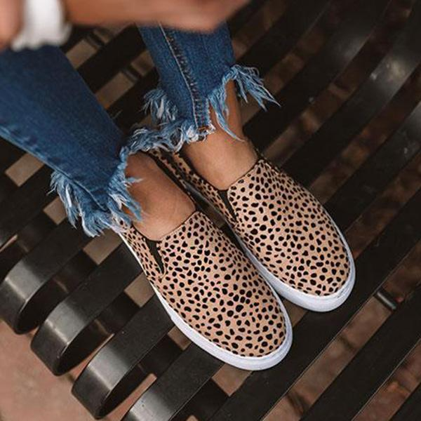 Remishoes Hot Sale Leopard Sneakers (Ship in 24 Hours)