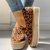 Remishoes Solid Platform Design Casual Sneakers
