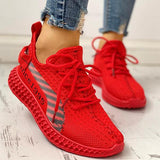 Remishoes Hot Sale Lace-Up Breathable Casual Sneakers