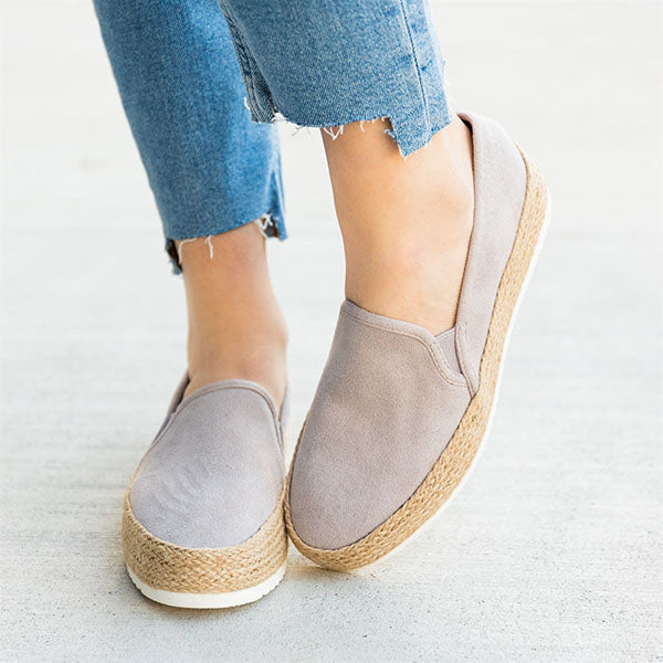Remishoes Perfect Espadrille Platform Sneakers