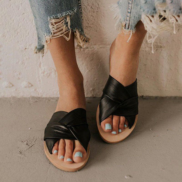 Remishoes All Season Flat Heel Sandals