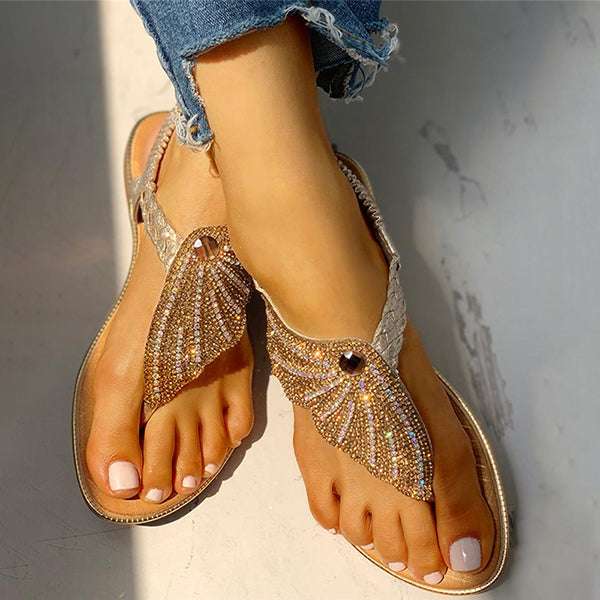 Remishoes Slope Non-Slip Comfortable Beach Casual Toe Sandals