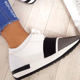 Remishoes Bali Mesh Two Toned Panel Sneakers
