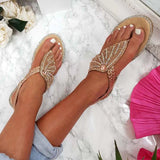 Remishoes Diamante Embellished Sandals