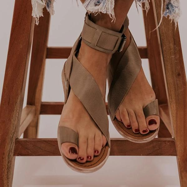 Remishoes Toe Ring Roman Style Sandals