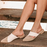 Remishoes Point Toe Slip-On Mule Slippers