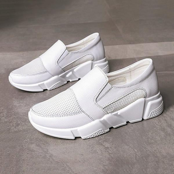 Remishoes Clue Spring Genuine Leather Beach Sneakers