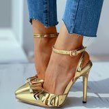 Remishoes Ruffles Solid Thin Heeled Sandals