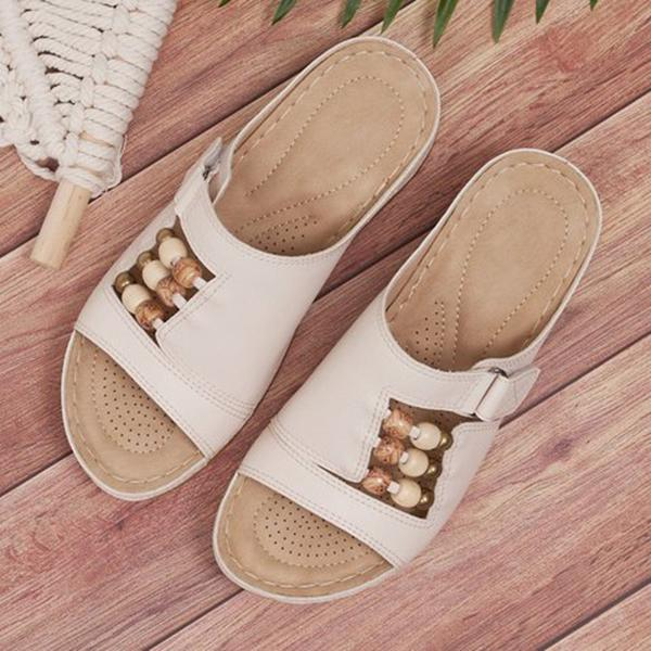 Remishoes Wedge Heel Summer Slippers