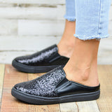 Remishoes Glitter Slide Sneakers Slippers