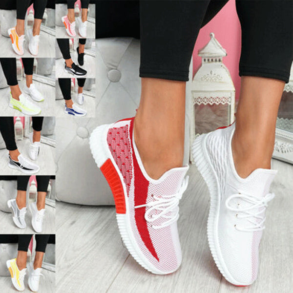 Remishoes Breathable Casual Comfortable Flat Bottom Women's Sneakers