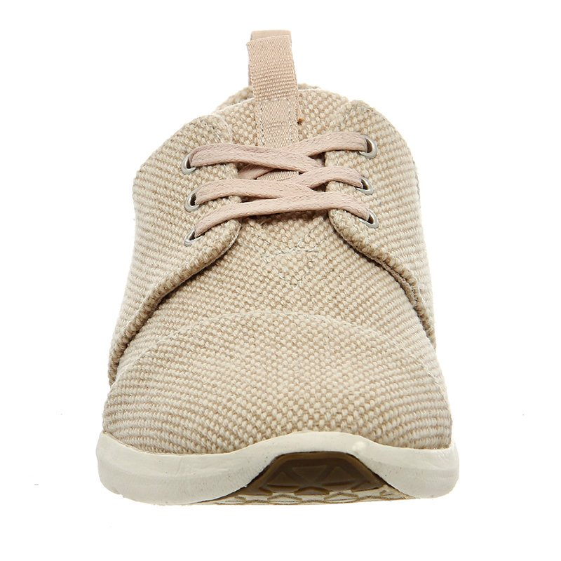 Remishoes Canvas Flat Heel Sneakers