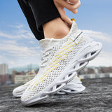 Remishoes Running Fabric Mesh Comfy Breathable Slip Resistant Casual Sneakers