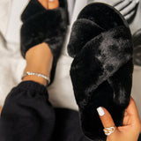 Remishoes Casual Comfty Faux Fur Slippers