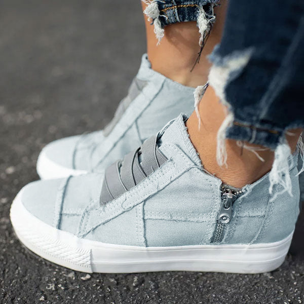 Remishoes Low Heel All Season Sneakers