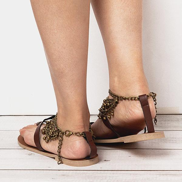 Remishoes Boho Retro Casual Holiday Sandals