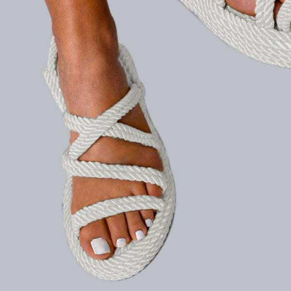 Remishoes Wedge Heel Summer Casual Open Toe Sandals