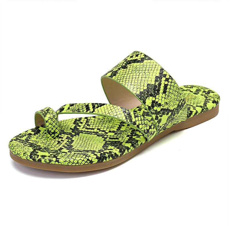 Remishoes Women Casual Comfy Slip On Peep Toe Flat Sandals