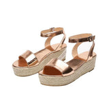 Remishoes Sea Wave Wedge Sandals
