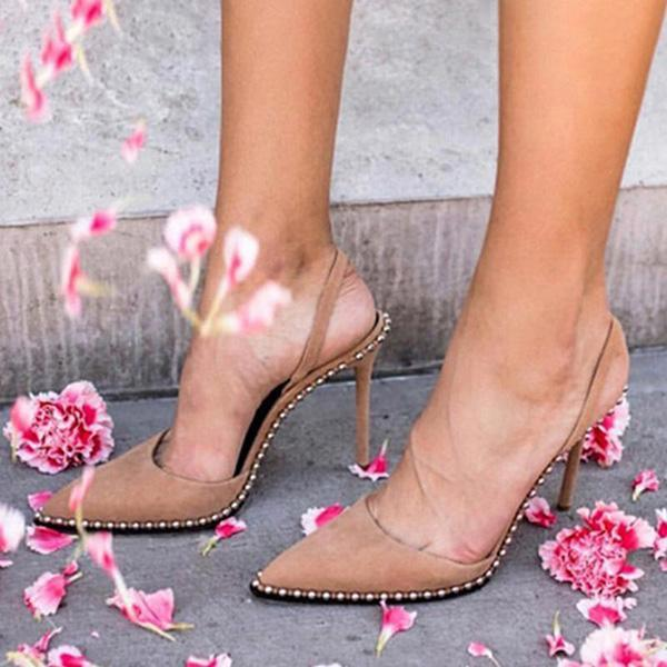 Remishoes Daily Beading Casual Stiletto Heel Heels