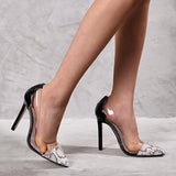 Remishoes Woman Cross-border High Single Shoes High Heels Women's Shoes