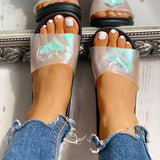 Remishoes Heart Detail Casual Flat Sandals