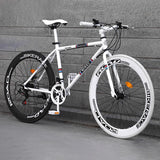 Remishoes 26 Inches 21 Speed Adult Road Bikes Live Bikes For Male And Female Students Fixie Bike