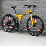 Remishoes 26 Inch Mountain Bike Folding Bicycle Adult  Bike