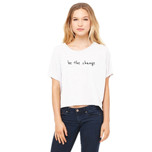 'Be The Change' Boxy T-shirt