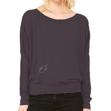 Flowy 'Acorn to Oak' Long Sleeve Top