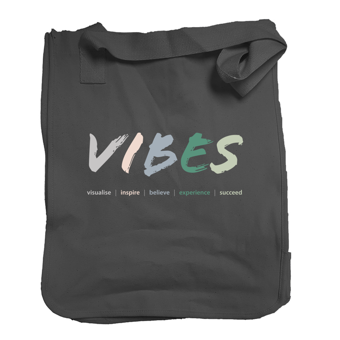 Organic 'Vibes' Market Tote