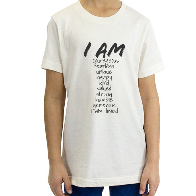 Youth 'I Am' Organic T-shirt