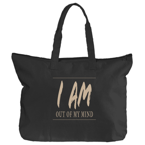 Zippered 'Out Of My Mind' Book Tote