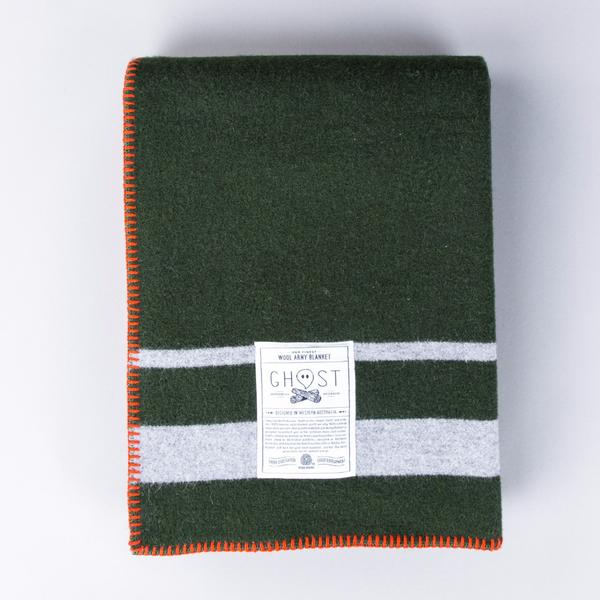 Cabin Fever Army Blanket