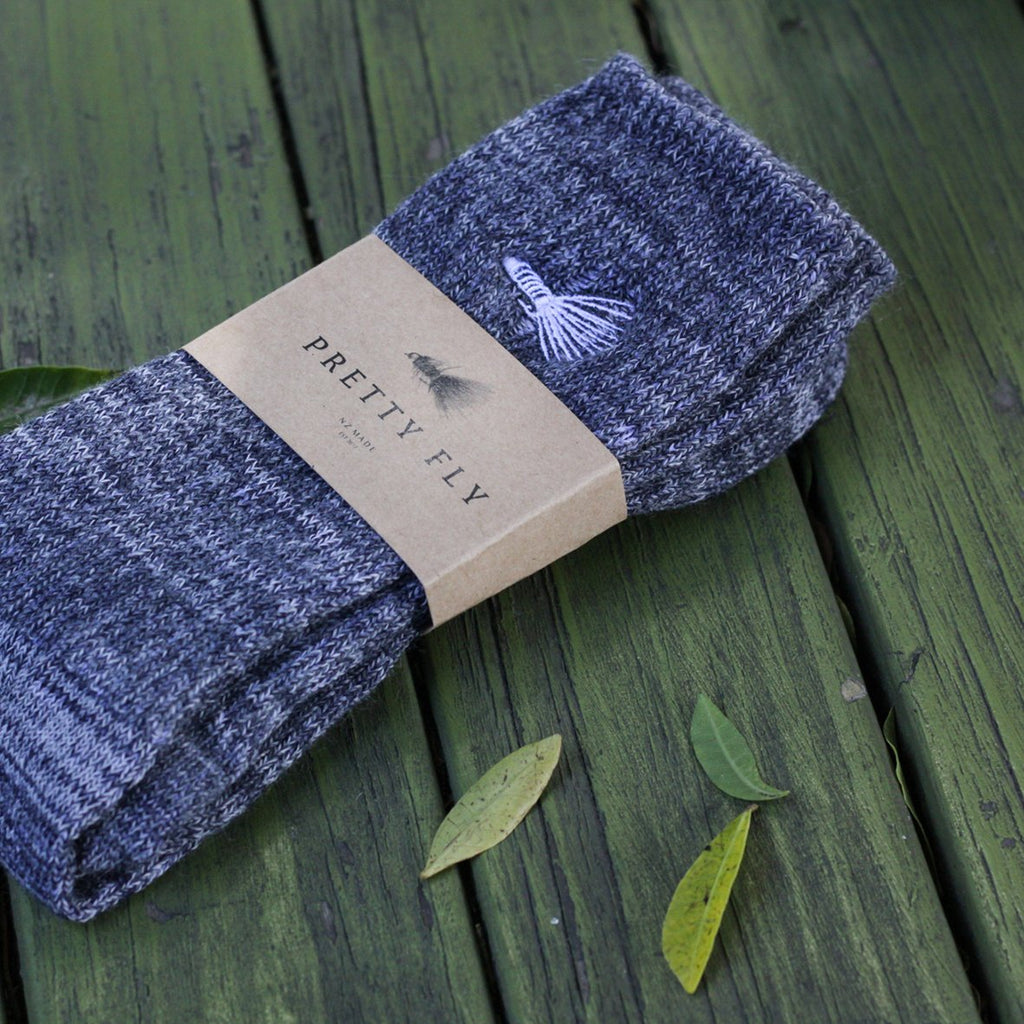 Fly Fish Merino Wool Sock