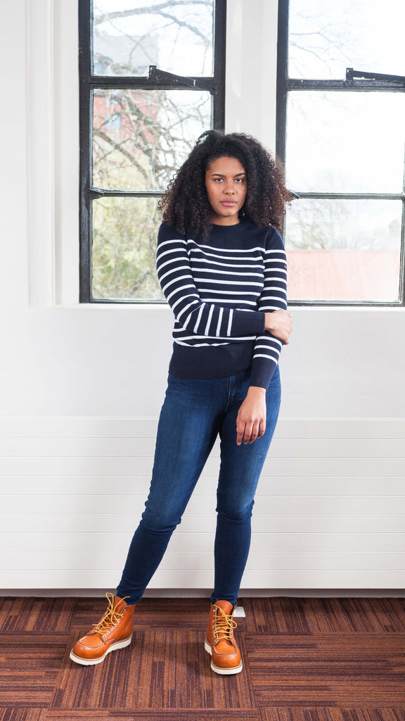 Striped Fisherman Jumper