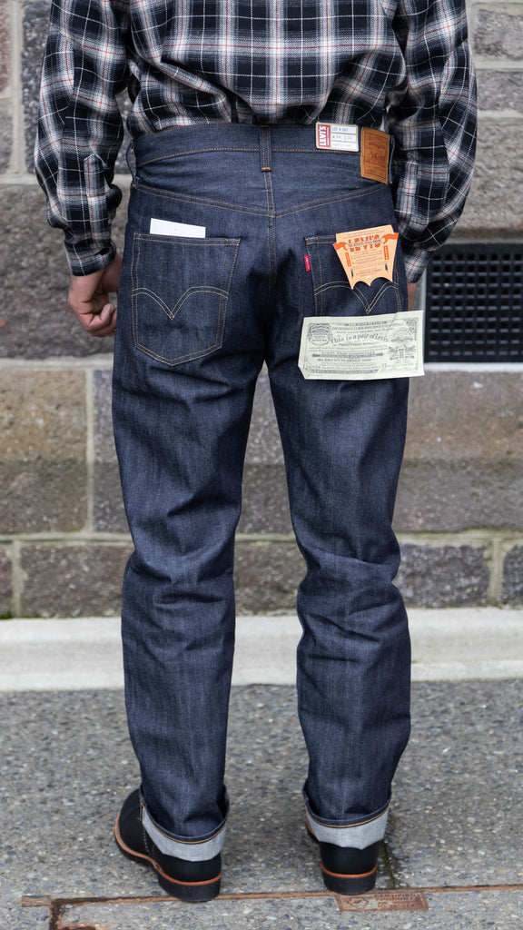 1947 501 Raw Selvedge Jean