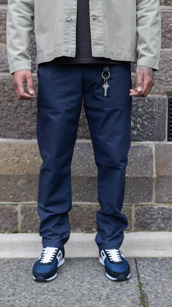 Slim Fatigue Pant - Navy Ripstop