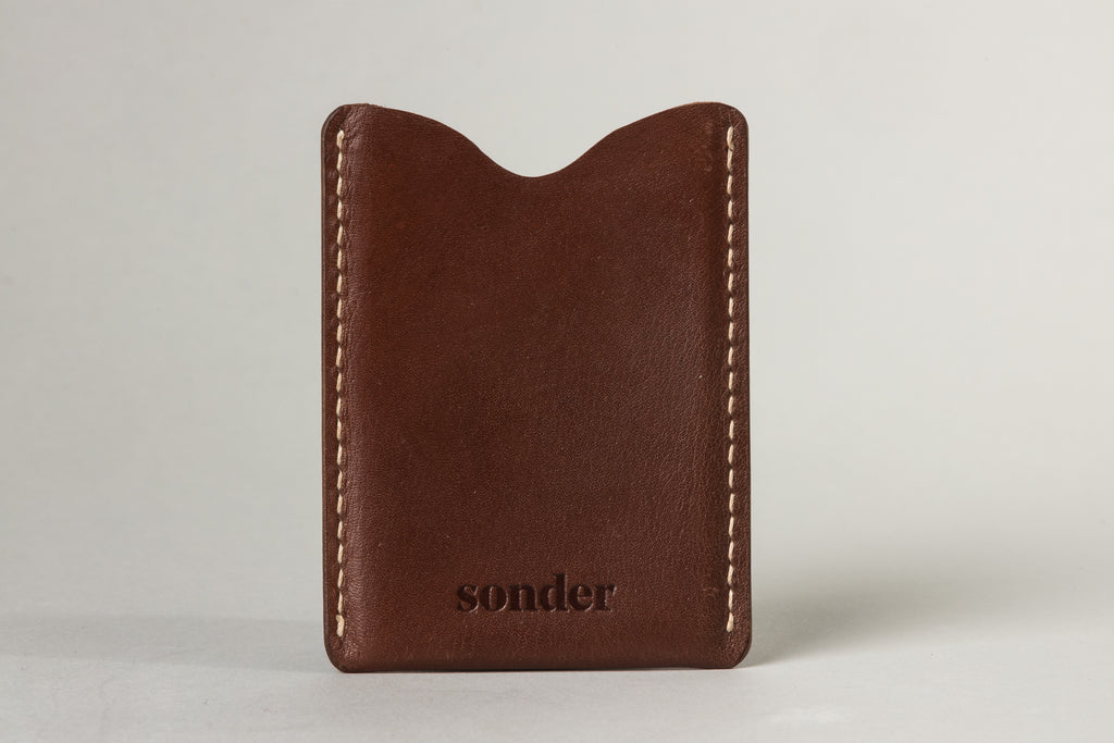 Card Sleeve Brandy