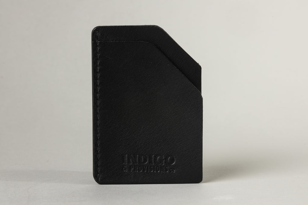 Indigo & Provisions Card Sleeve Black